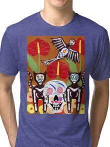 De Mis Amores (beloved) Tri-blend T-Shirt