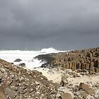Waves at the Giant's Causeway by Goerzen