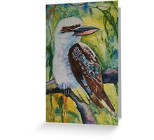 Majestic Kookaburra Greeting Card