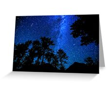 Starry, starry night in the Skykomish Valley  Greeting Card
