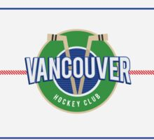 Vancouver Hockey Case, Cards and Notebooks Sticker
