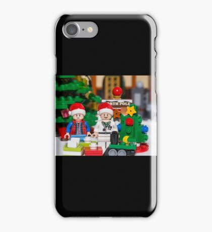 Doc and Marty North Pole iPhone Case/Skin