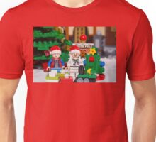 Doc and Marty North Pole Unisex T-Shirt