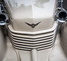 Cord Grill with Horns by eegibson
