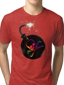 pirate bomb Tri-blend T-Shirt