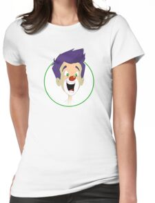 Zip Tee Womens Fitted T-Shirt