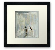 Broken matchstick Framed Print