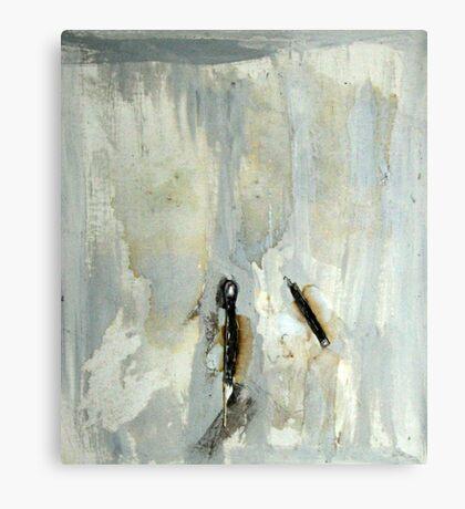Broken matchstick Canvas Print