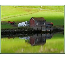 Serenity Fjord Reflections Photographic Print