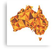 Abstract Australia Desert Rock Canvas Print