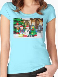 North Pole with Marty and Dov Women's Fitted Scoop T-Shirt