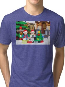 North Pole with Marty and Dov Tri-blend T-Shirt