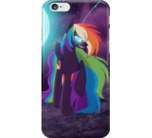 Nightmare Rainbow Dash iPhone Case/Skin