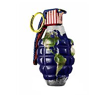 """Grenade""  Photographic Print"