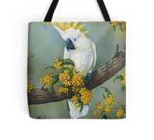 Australian White Cockatoo  Tote Bag