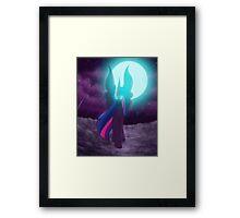Nightmare Twilight Sparkle Framed Print