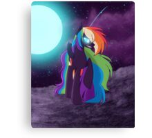 Nightmare Rainbow Dash Canvas Print