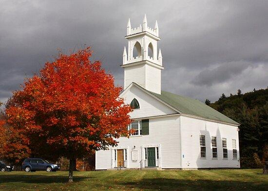 Washington New Hampshire in the Fall by AnnDixon