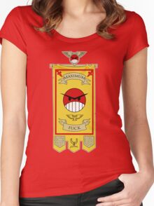 Angry Marines Women's Fitted Scoop T-Shirt