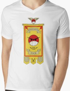 Angry Marines Mens V-Neck T-Shirt