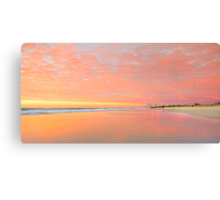 Dawn on Main Beach - Gold Coast Qld Australia Canvas Print