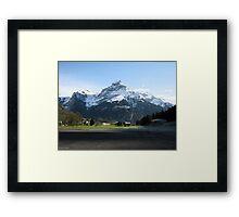 Swiss Giant Framed Print