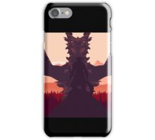 Alduin and the Dragonborn iPhone Case/Skin