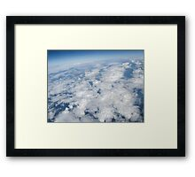 Sky Blues Framed Print