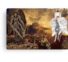 ▂ ▃ ▅ ▆ █ I WISH WE'D ALL BEEN READY..BIBLICAL WAR & RUMOURS OF WAR ITS REAL.. █ ▆ ▅ ▃ Canvas Print