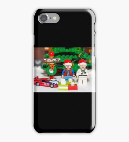 Marty and Doc get gifts iPhone Case/Skin