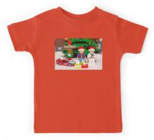 Marty and Doc get gifts Kids Tee
