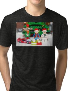 Marty and Doc get gifts Tri-blend T-Shirt