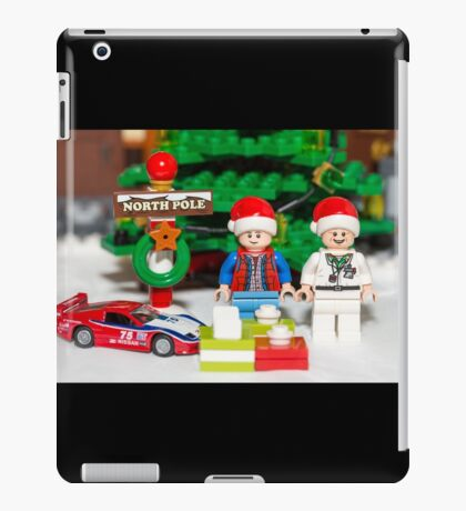 Marty and Doc get gifts iPad Case/Skin