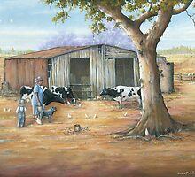 Grandmar's Farm  by owen  pointon
