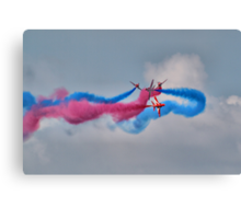 And Breeeak !!! Red Arrows - Dunsfold 2013 Canvas Print