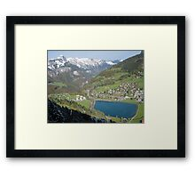 Swiss Country Framed Print