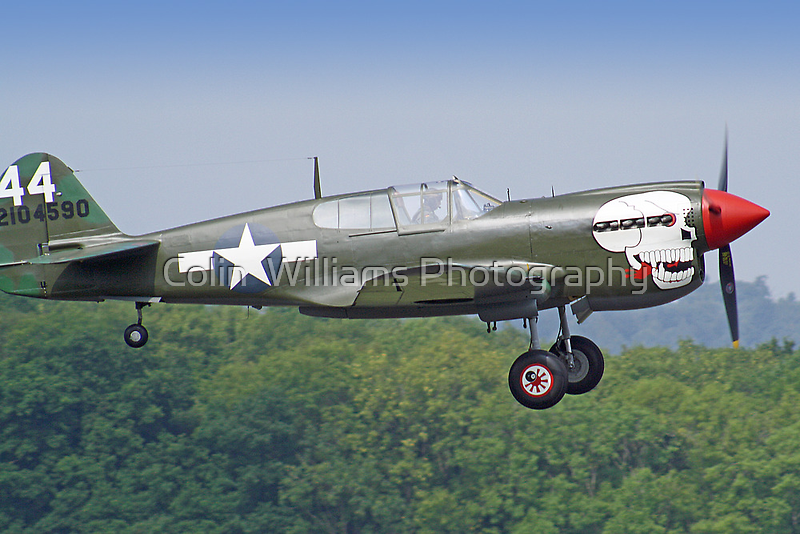 Curtiss P-40M Kittyhawk - Dunsfold 2013 by Colin  Williams Photography