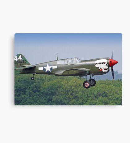 Curtiss P-40M Kittyhawk - Dunsfold 2013 Canvas Print