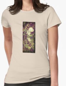 Antique Look Print of Pretty Sweet Pea flowers T-Shirt