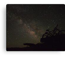 death valley sky Canvas Print