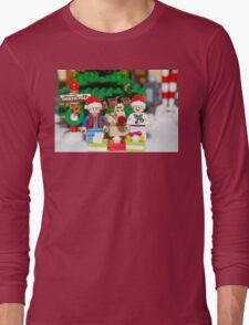 Marty, Doc and Rudolph Long Sleeve T-Shirt