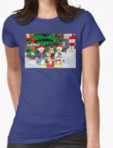 Marty, Doc and Rudolph Womens Fitted T-Shirt