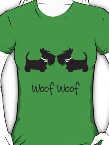 Double Scottie – Woof Woof T-Shirt
