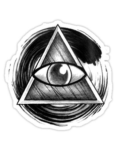 Illuminati Eyes by mitchrose