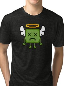 Pixel Pete Design 01 Tri-blend T-Shirt
