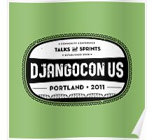 Djangocon US 2011 Poster