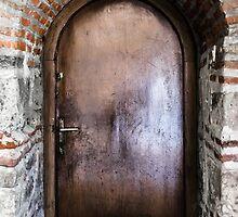 Mysterious door by Sotiris Filippou
