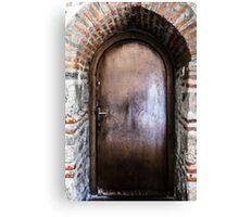 Mysterious door Canvas Print