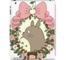 totoro anime shirt iPad Case/Skin
