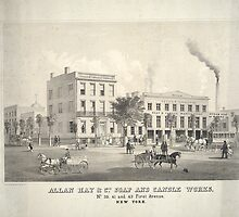 Allan Hay & Co.'s Soap & Candle Works by Bridgeman Art Library